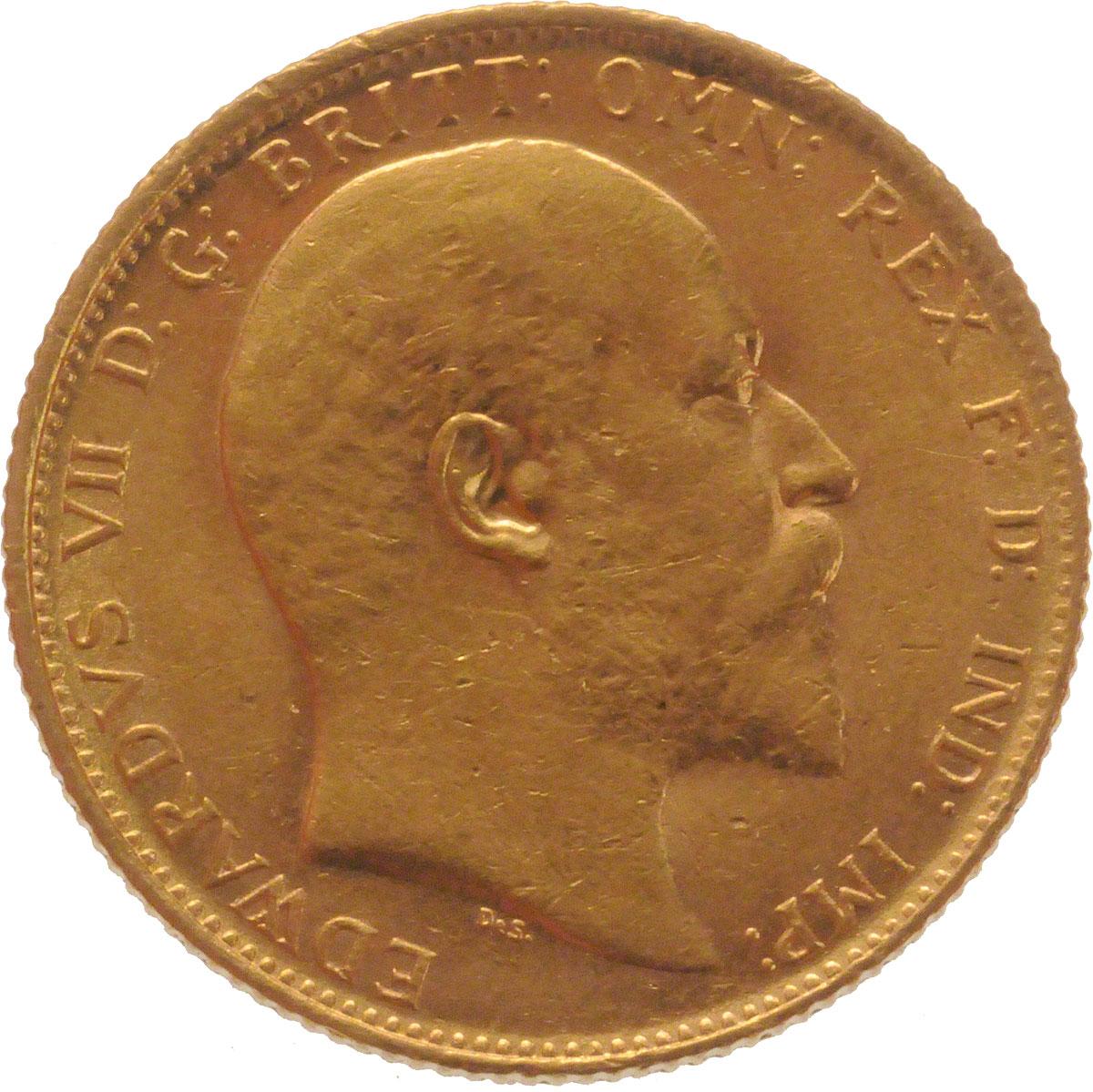 1908 Εδουάρδος Ζ' (Νομισματοκοπείο Σίδνεϊ)