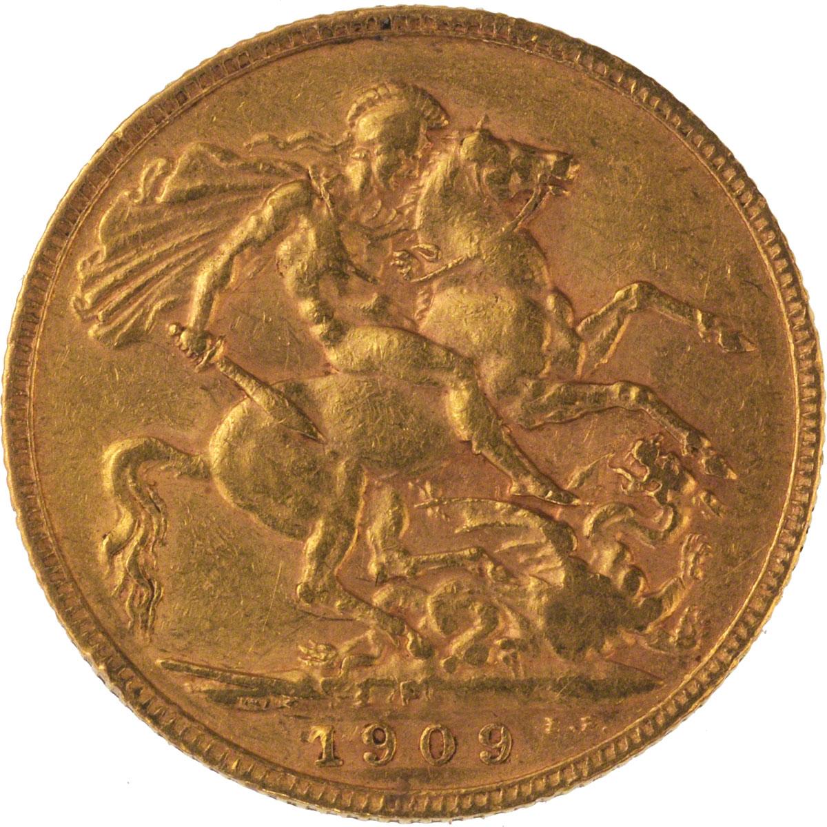 1909 Εδουάρδος Ζ' (Νομισματοκοπείο Περθ)