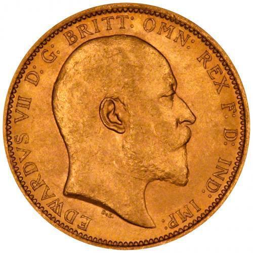 1909 Εδουάρδος Ζ' (Νομισματοκοπείο Σίδνεϊ)