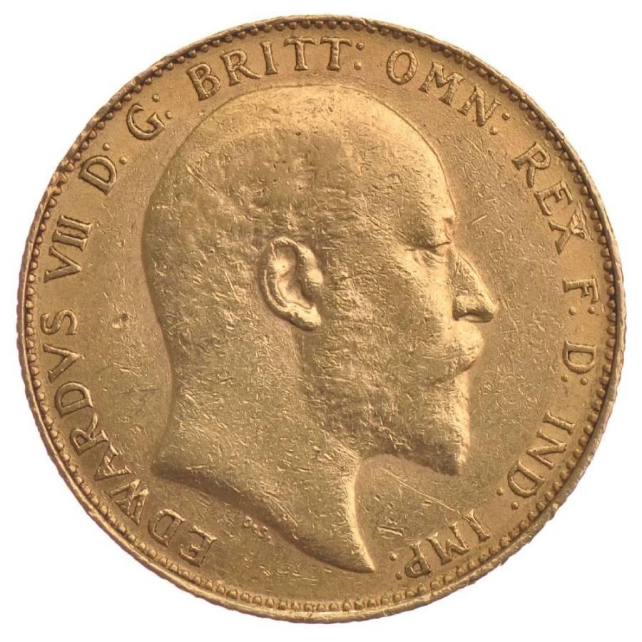1909 Εδουάρδος Ζ' (Νομισματοκοπείο Οττάβα, Καναδάς)