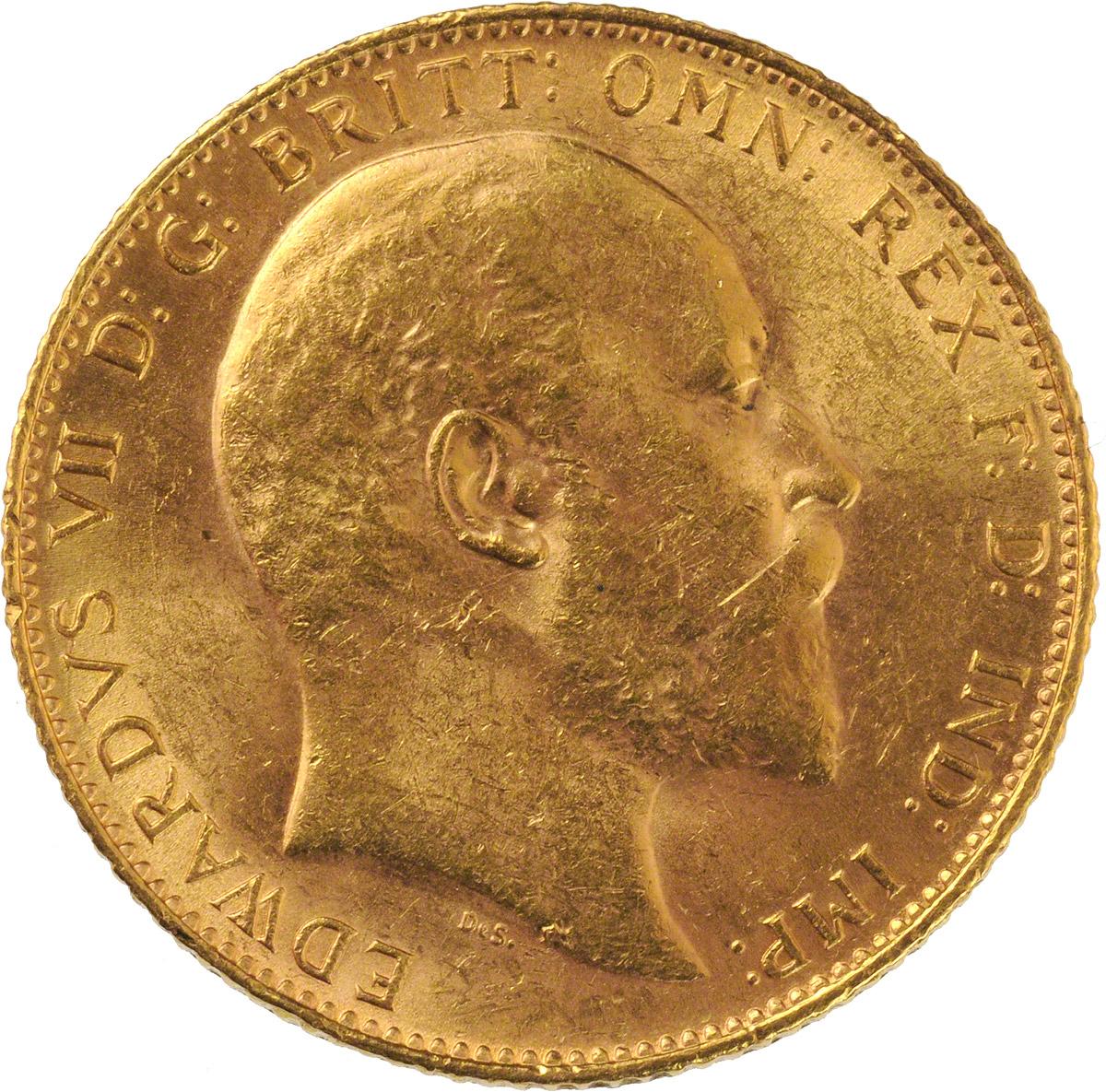 1910 Εδουάρδος Ζ' (Νομισματοκοπείο Λονδίνου)