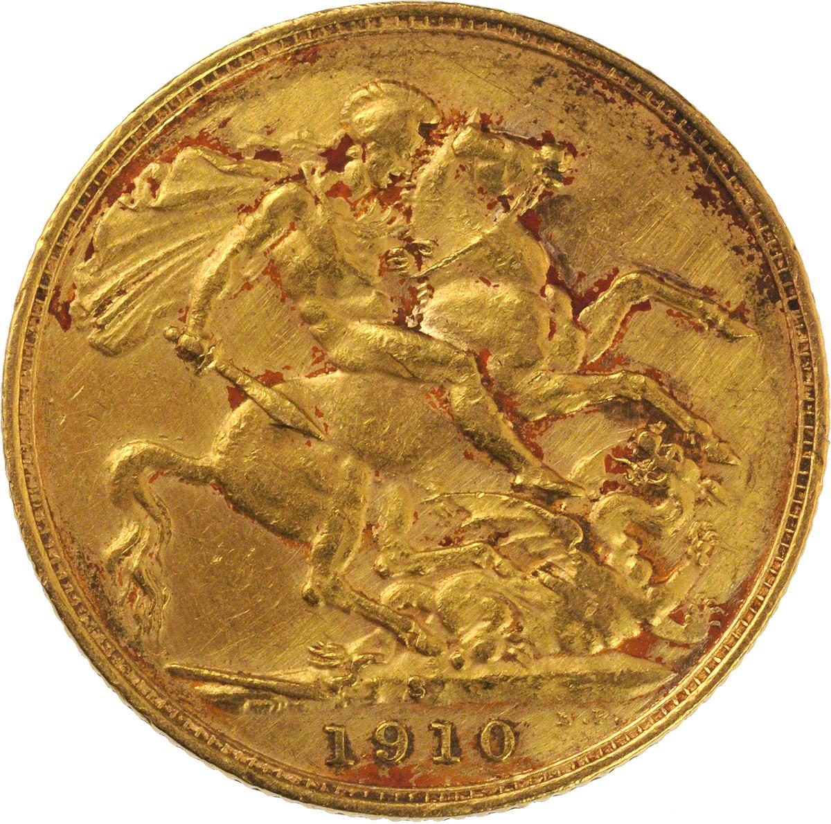 1910 Εδουάρδος Ζ' (Νομισματοκοπείο Σίδνεϊ)
