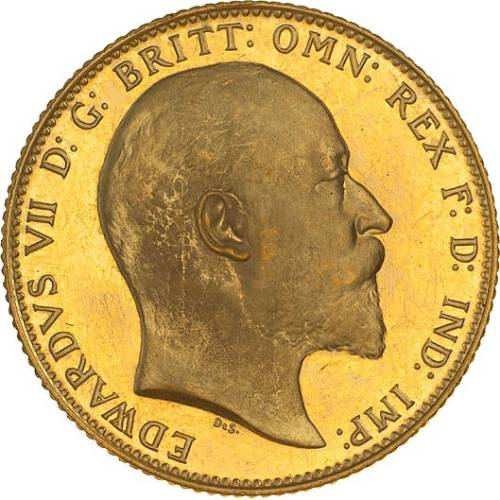 1910 Εδουάρδος Ζ' (Νομισματοκοπείο Μελβούρνης)