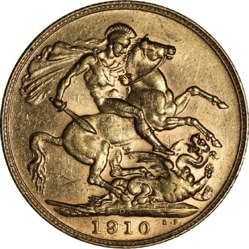 1910 Εδουάρδος Ζ' (Νομισματοκοπείο Περθ)