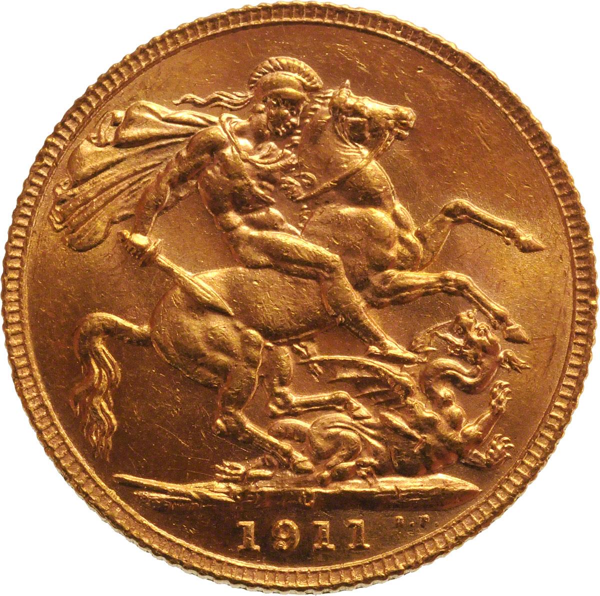 1911 Γεώργιος Ε' (Νομισματοκοπείο Οττάβα, Καναδάς)