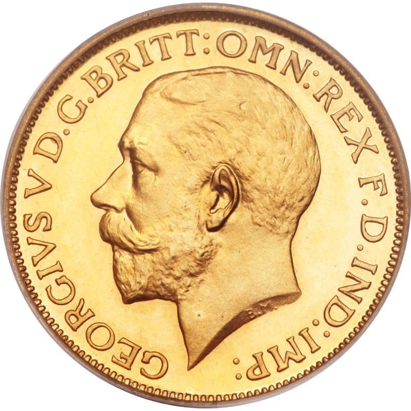 1911 Γεώργιος Ε' (Νομισματοκοπείο Λονδίνου)