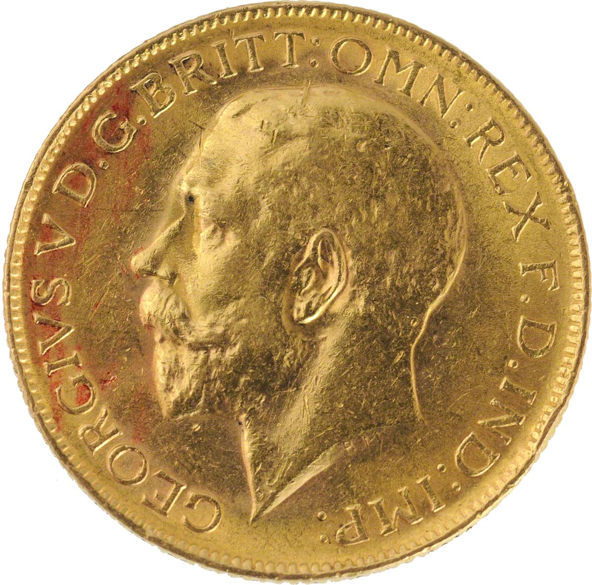 1912 Γεώργιος Ε' (Νομισματοκοπείο Περθ)