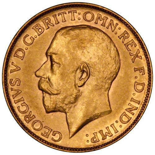 1912 Γεώργιος Ε' (Νομισματοκοπείο Σίδνεϊ)