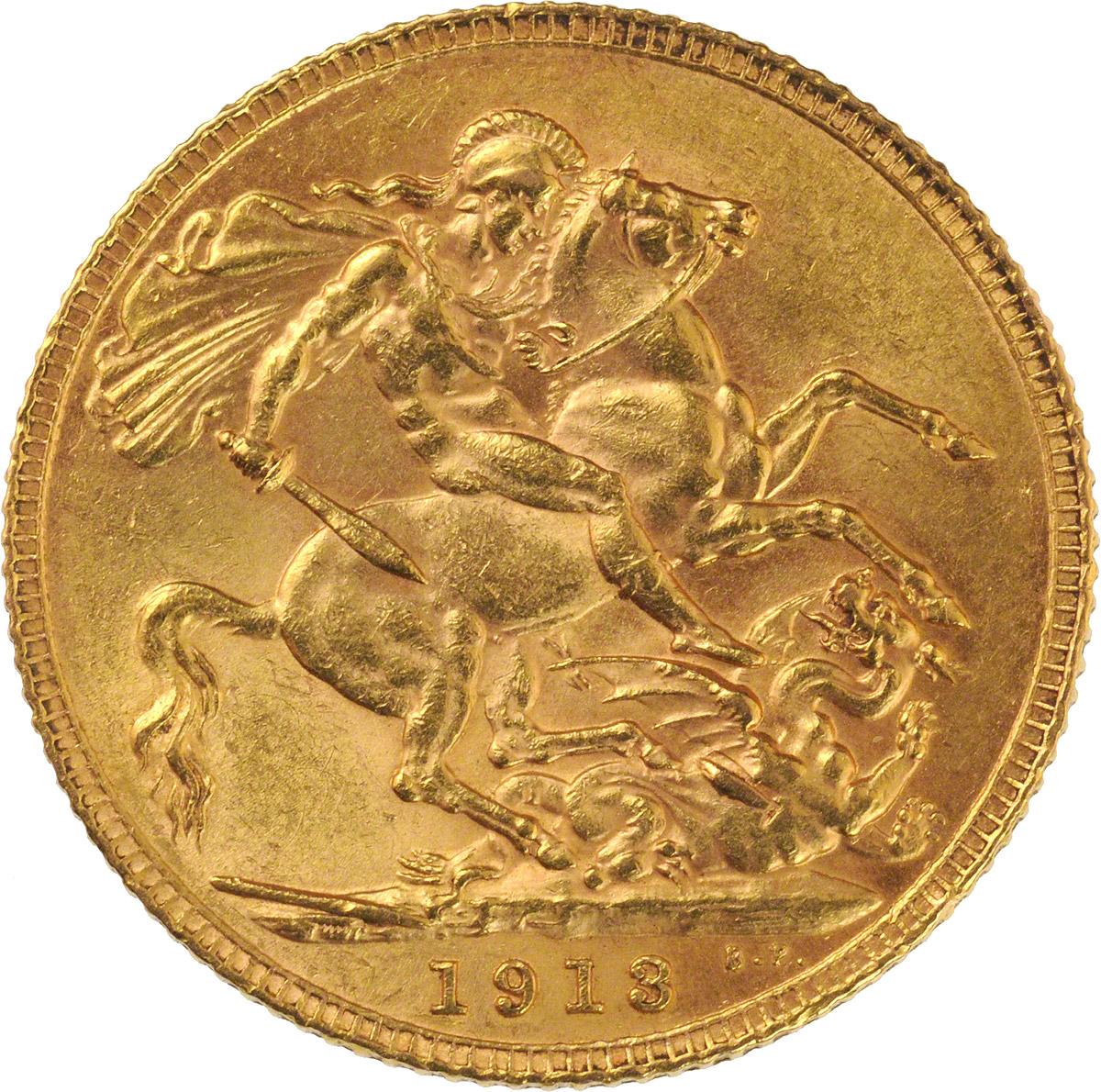 George V St George London Mint