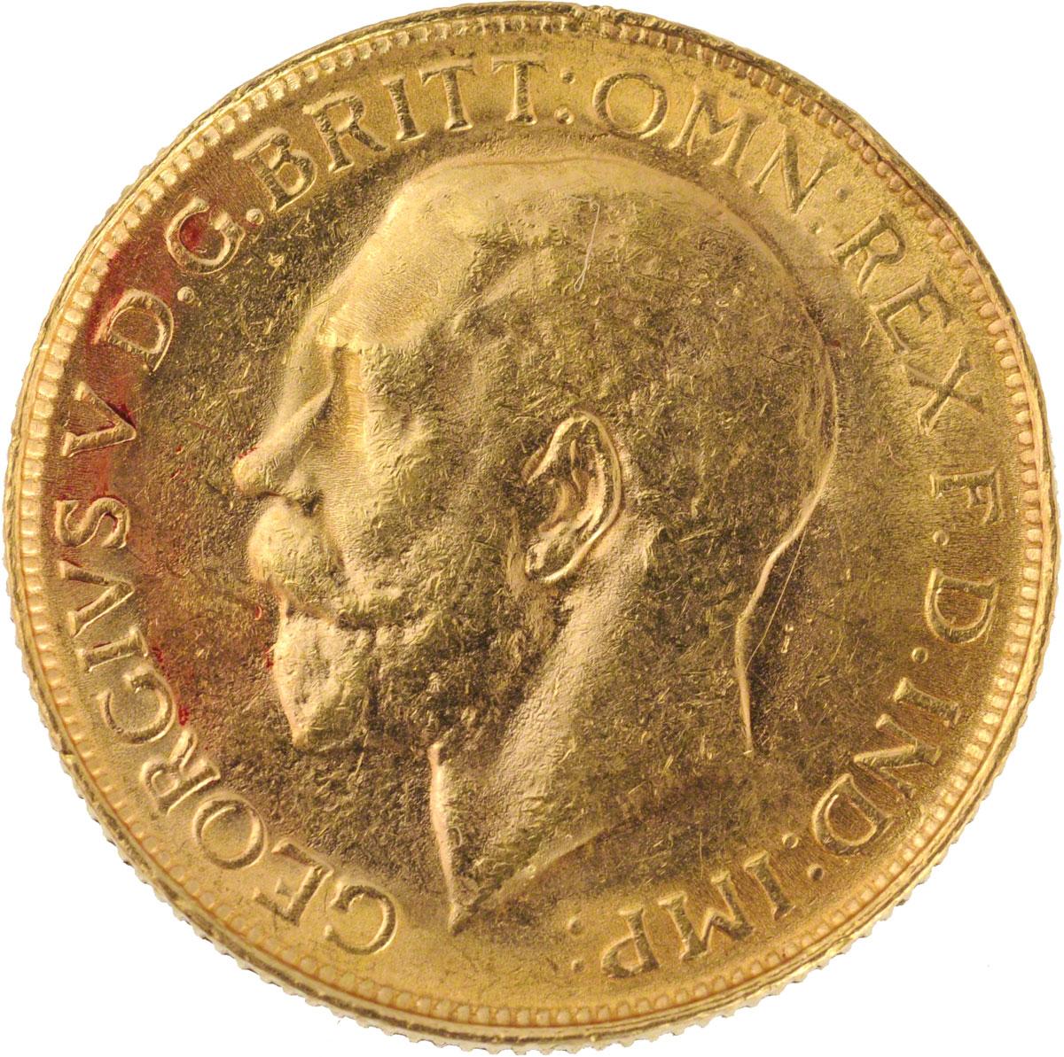 1913 Γεώργιος Ε' (Νομισματοκοπείο Σίδνεϊ)