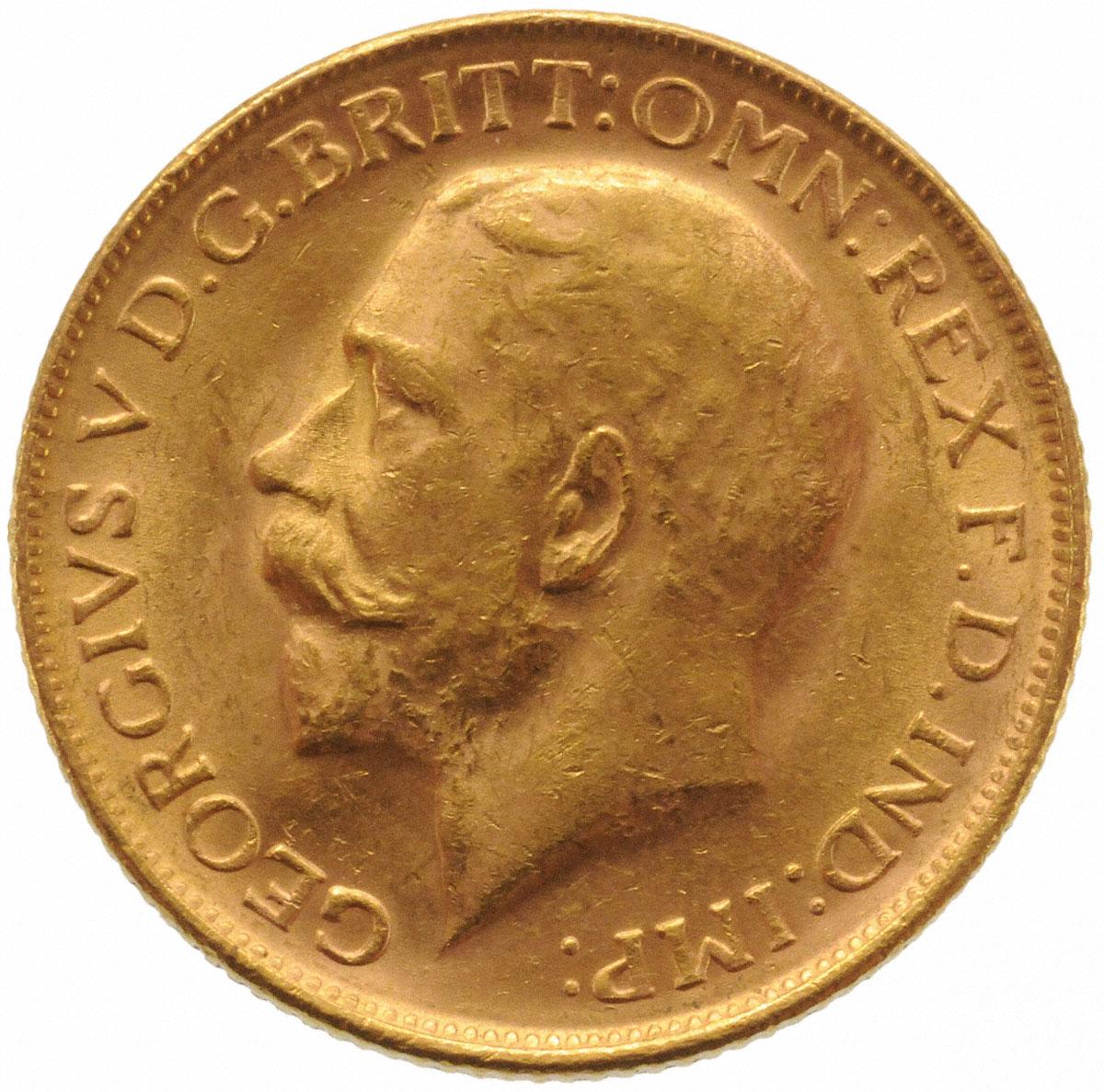 1914 Γεώργιος Ε' (Νομισματοκοπείο Μελβούρνης)