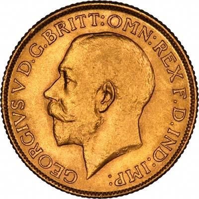 1914 Γεώργιος Ε' (Νομισματοκοπείο Περθ)