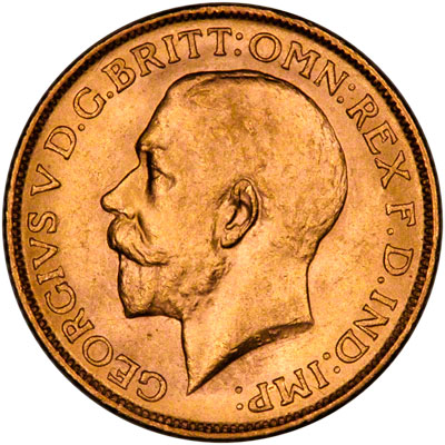 1916 Γεώργιος Ε' (Νομισματοκοπείο Λονδίνου)