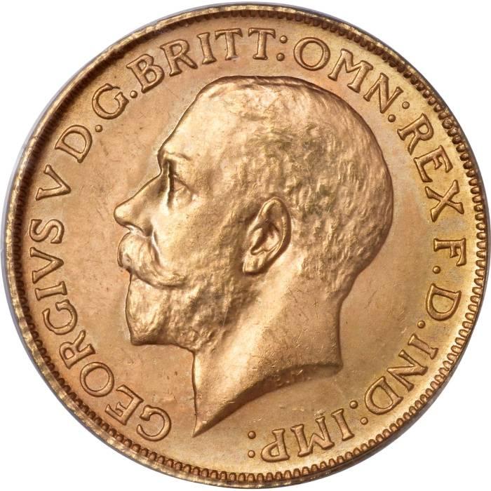 1916 Γεώργιος Ε' (Νομισματοκοπείο Οττάβα, Καναδάς)
