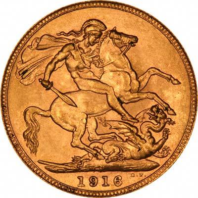 1916 Γεώργιος Ε' (Νομισματοκοπείο Περθ)