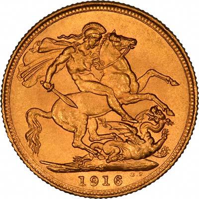1916 Γεώργιος Ε' (Νομισματοκοπείο Σίδνεϊ)