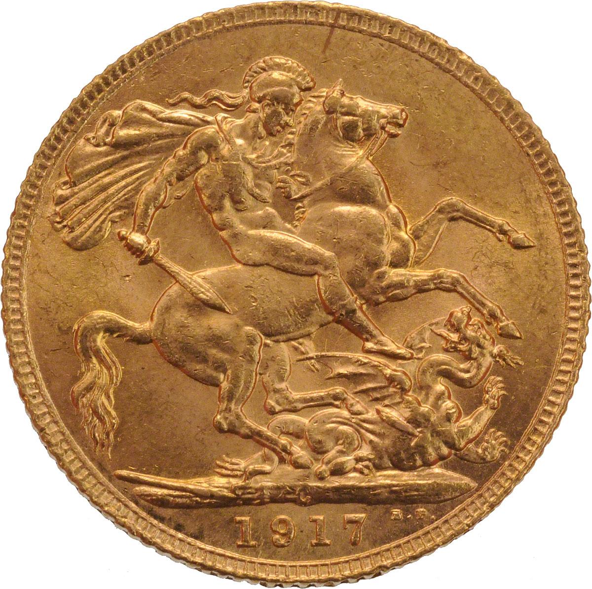 1917 Γεώργιος Ε' (Νομισματοκοπείο Οττάβα, Καναδάς)