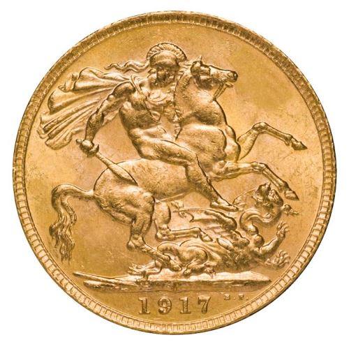 1917 Γεώργιος Ε' (Νομισματοκοπείο Περθ)