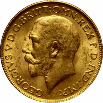 1918 Γεώργιος Ε' (Νομισματοκοπείο Βομβάης, Ινδία)