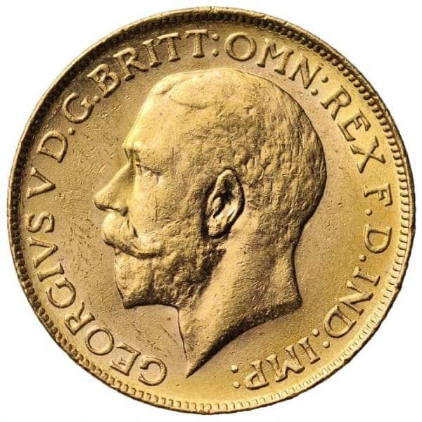 1918 Γεώργιος Ε' (Νομισματοκοπείο Οττάβα, Καναδάς)