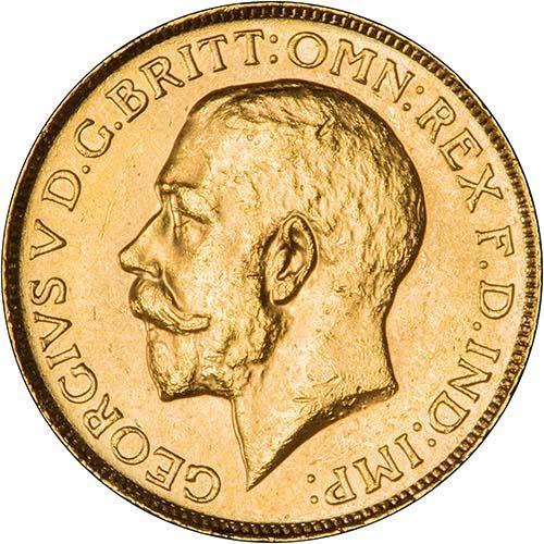 1919 Γεώργιος Ε' (Νομισματοκοπείο Οττάβα, Καναδάς)