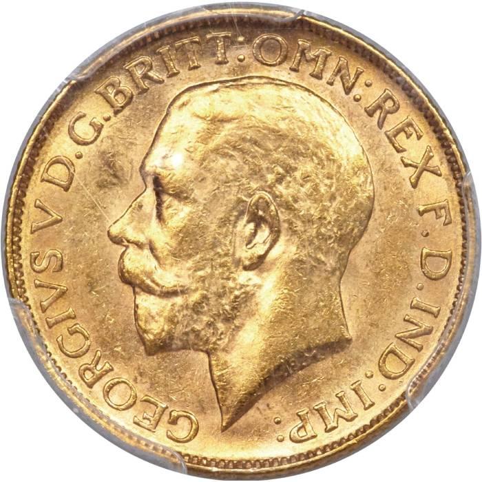 1920 Γεώργιος Ε' (Νομισματοκοπείο Μελβούρνης)