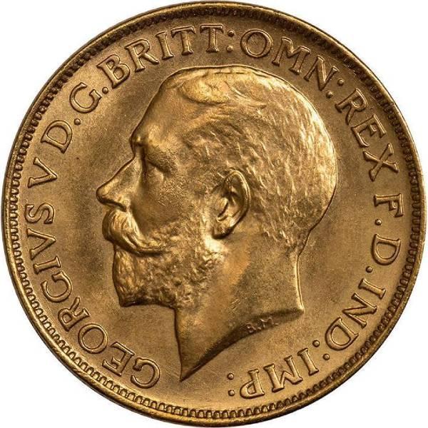 1920 Γεώργιος Ε' (Νομισματοκοπείο Σίδνεϊ)