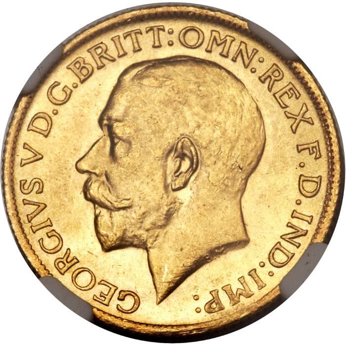 1921 Γεώργιος Ε' (Νομισματοκοπείο Σίδνεϊ)