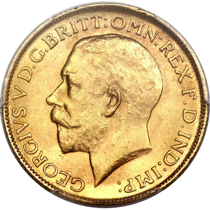1922 Γεώργιος Ε' (Νομισματοκοπείο Μελβούρνης)
