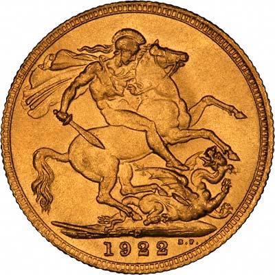 1922 Γεώργιος Ε' (Νομισματοκοπείο Περθ)