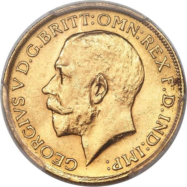 1922 Γεώργιος Ε' (Νομισματοκοπείο Σίδνεϊ)