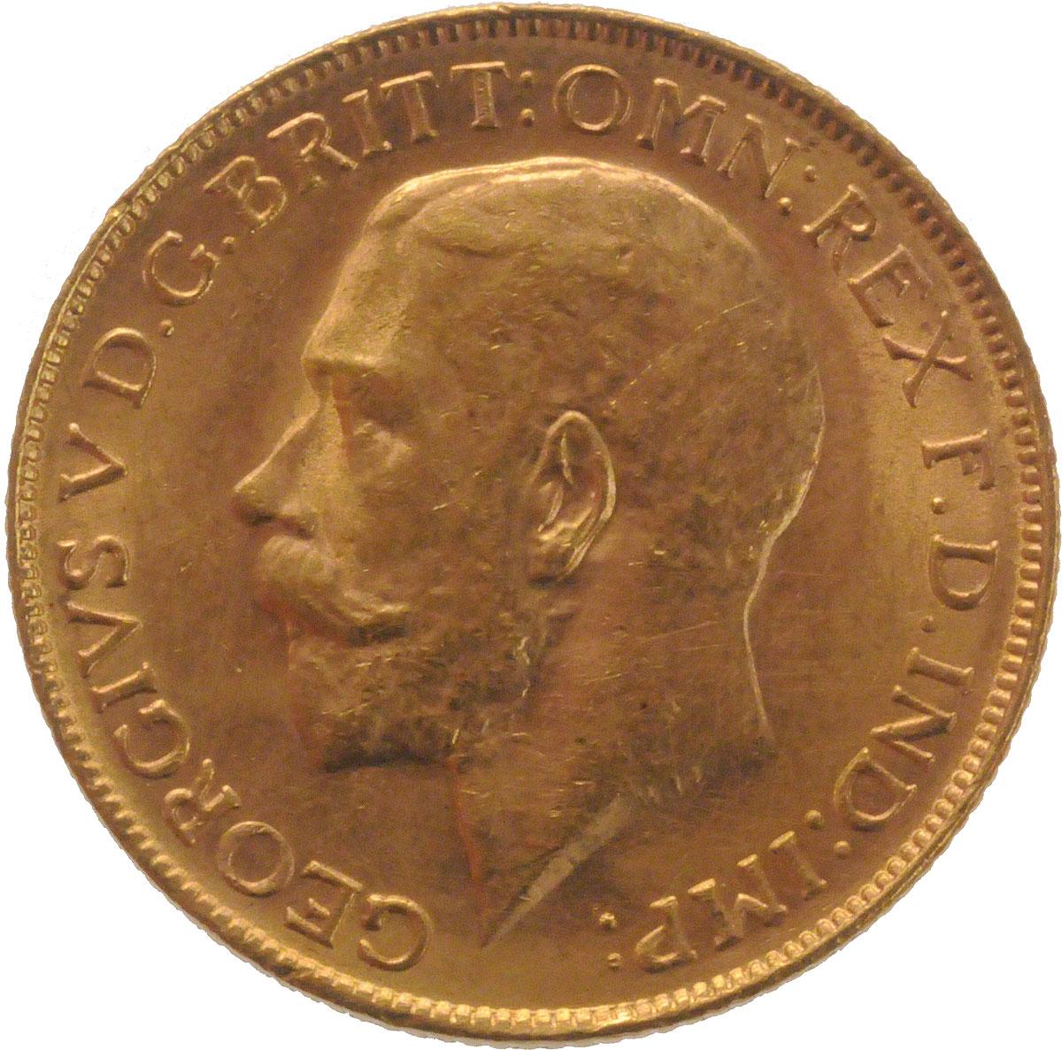 1923 Γεώργιος Ε' (Νομισματοκοπείο Περθ)