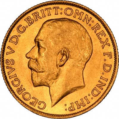 1924 Γεώργιος Ε' (Νομισματοκοπείο Μελβούρνης)