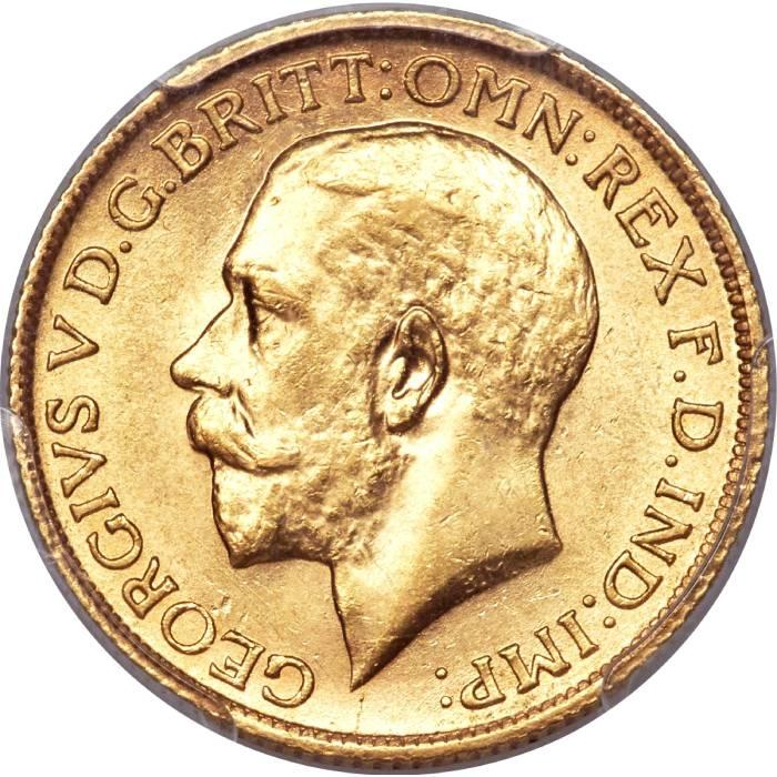 1924 Γεώργιος Ε' (Νομισματοκοπείο Σίδνεϊ)