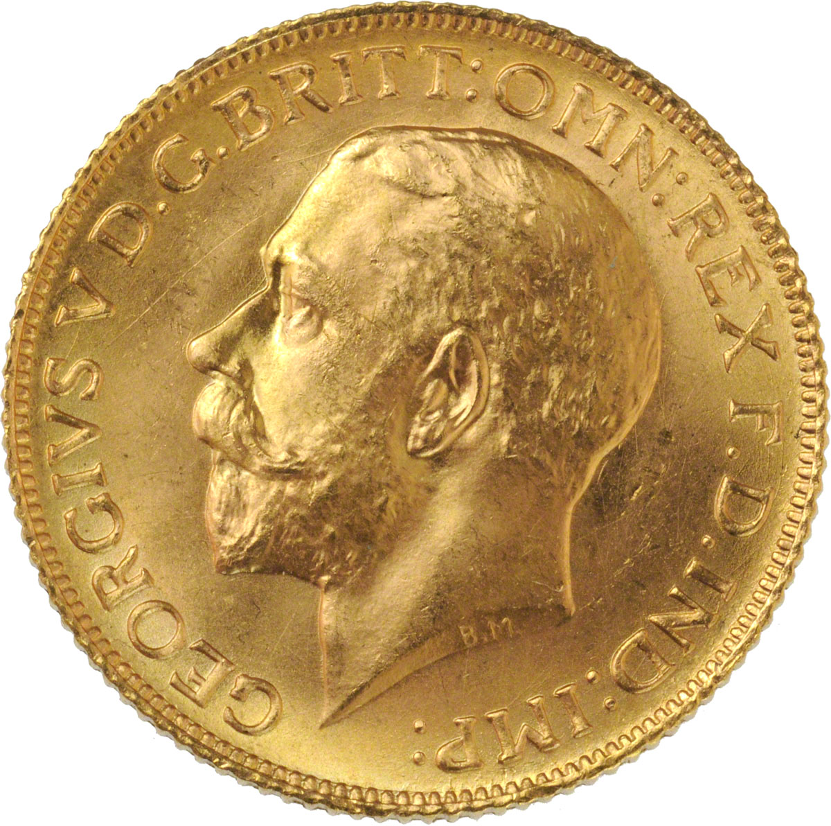 1925 Γεώργιος Ε' (Νομισματοκοπείο Λονδίνου)