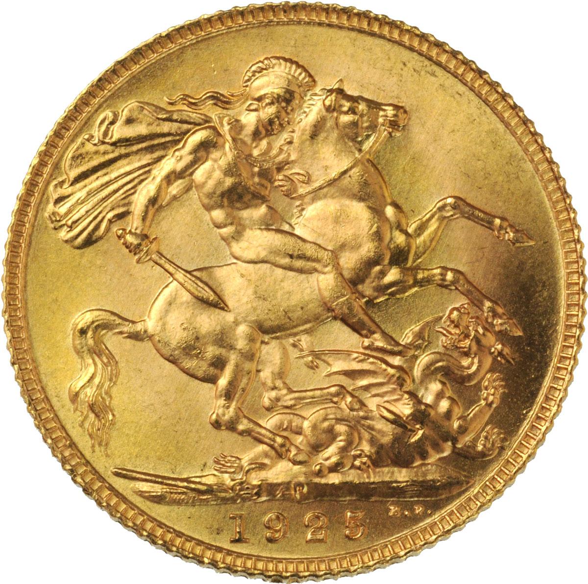 1925 Γεώργιος Ε' (Νομισματοκοπείο Περθ)