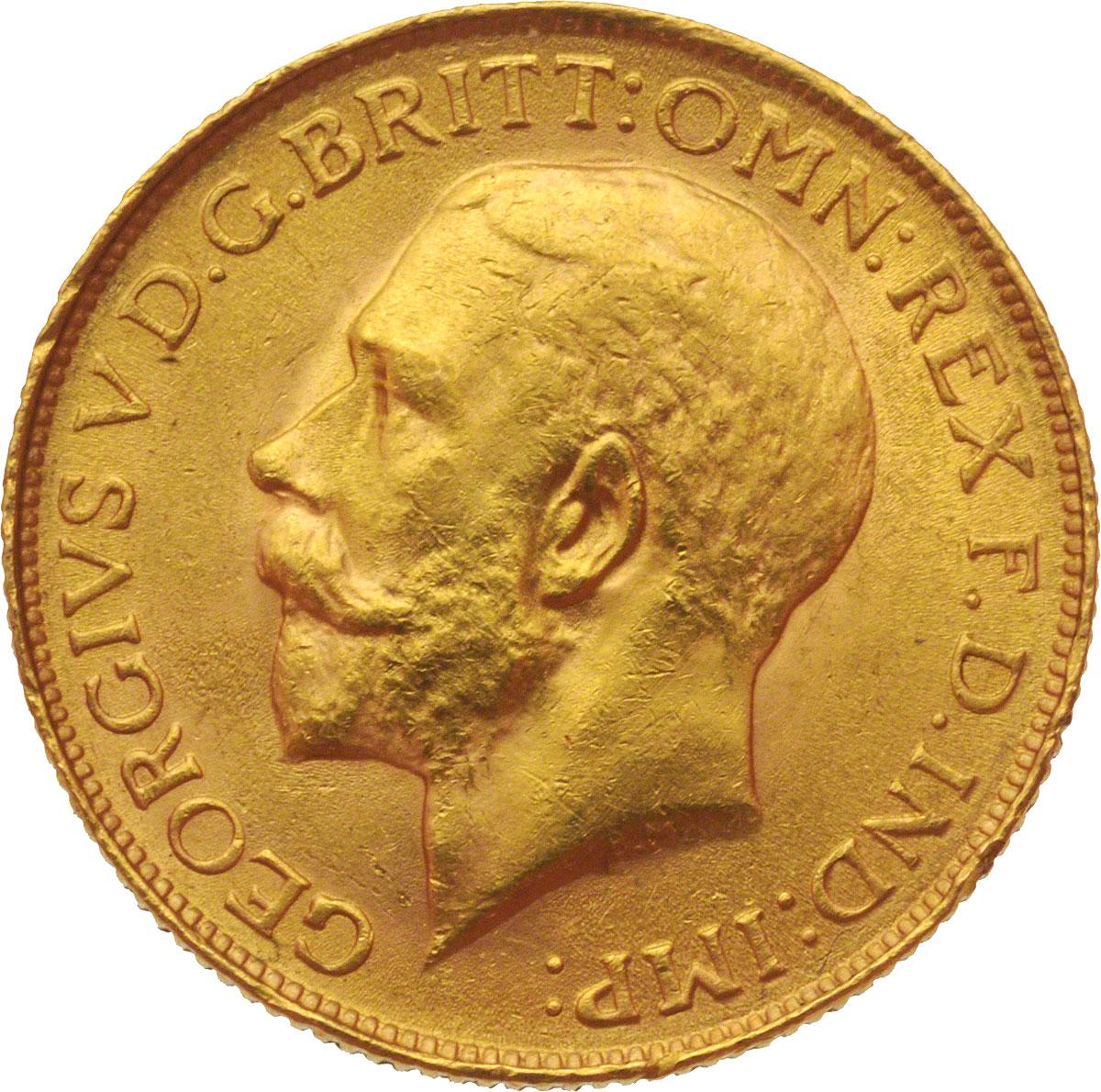 1925 Γεώργιος Ε' (Νομισματοκοπείο Πρετόρια, Νότια Αφρική)