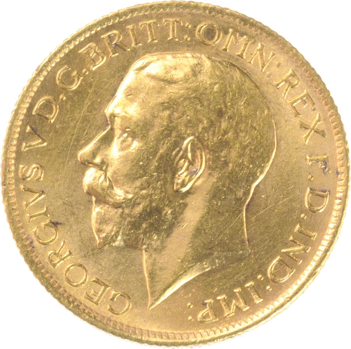 1925 Γεώργιος Ε' (Νομισματοκοπείο Σίδνεϊ)