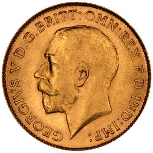 1925 Γεώργιος Ε' (Νομισματοκοπείο Μελβούρνης)