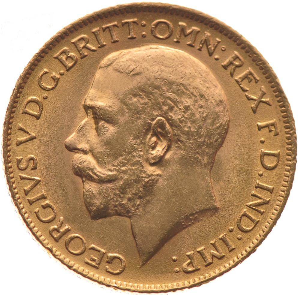 1927 Γεώργιος Ε' (Νομισματοκοπείο Μελβούρνης)