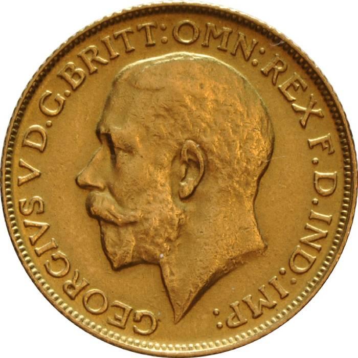 1928 Γεώργιος Ε' (Νομισματοκοπείο Μελβούρνης)