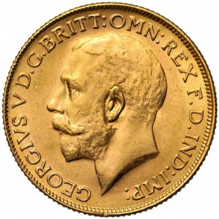 1928 Γεώργιος Ε' (Νομισματοκοπείο Περθ)