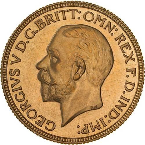 1930 Γεώργιος Ε' (Νομισματοκοπείο Μελβούρνης)