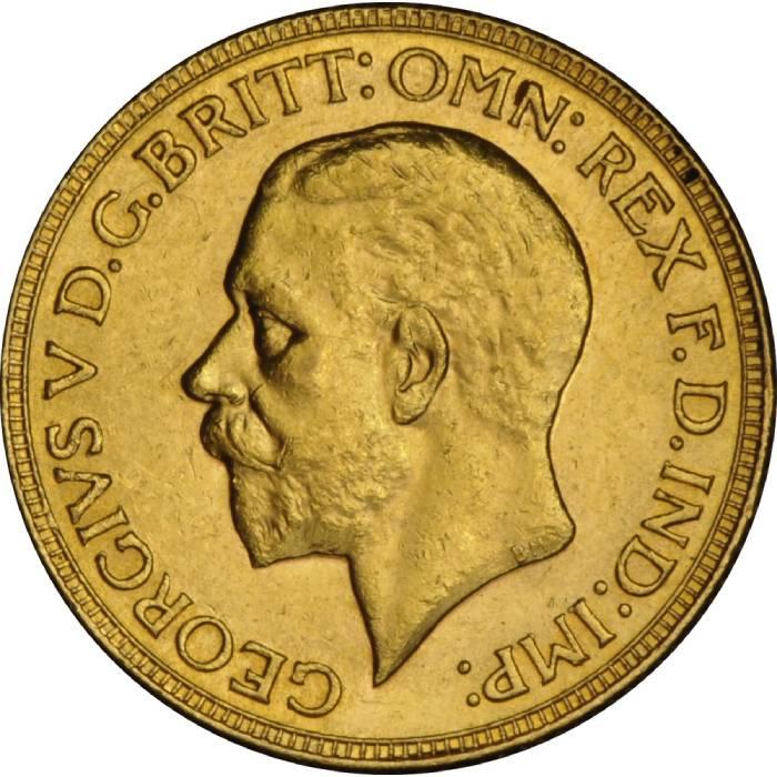 1931 Γεώργιος Ε' (Νομισματοκοπείο Μελβούρνης)