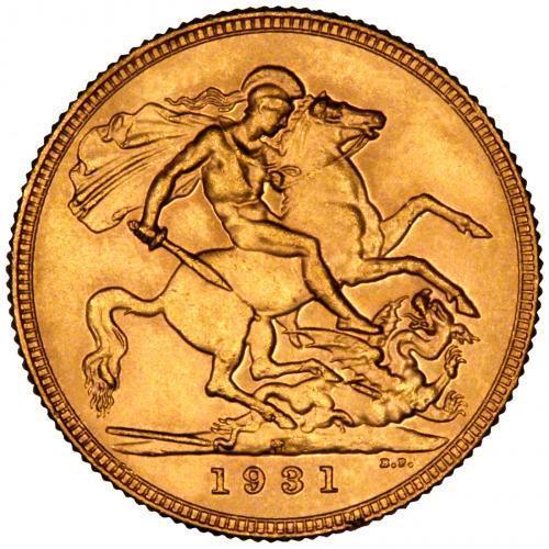 1931 Γεώργιος Ε' (Νομισματοκοπείο Περθ)