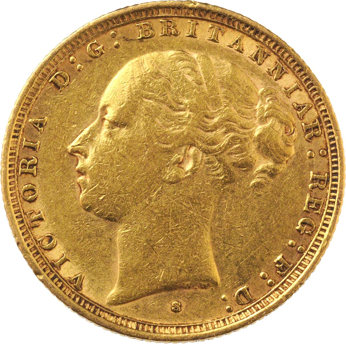 1885 Βικτώρια (Νομισματοκοπείο Σίδνεϊ)