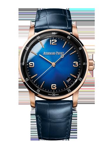 Audemars Piguet 15210OR.OO .A028CR.01 CODE 11.59 Automatic Pink Gold Blue