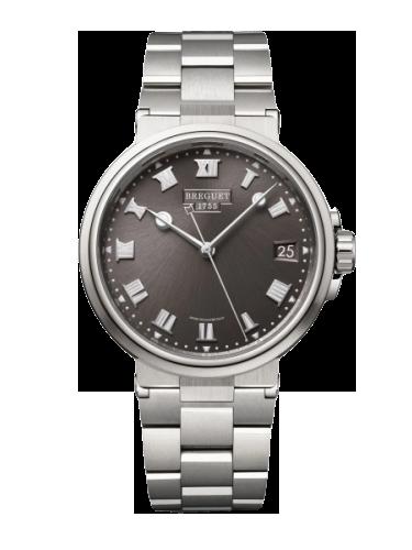 Breguet 5517TI.G2.TZ0 Marine 5517 Titanium Slate Grey Bracelet