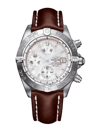 Breitling A1336410.A569.437X Galactic Chronograph II Stainless Steel MOP 1