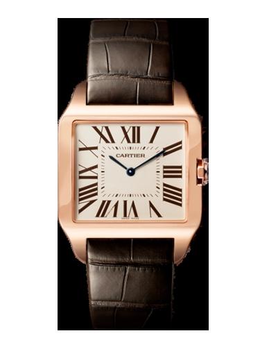 Cartier W2006951 Santos Dumont 34.6 Pink Gold 1